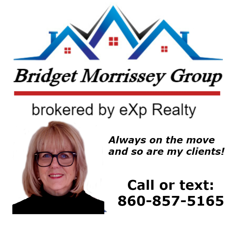 Call or text Waterford Realtor Bridget Morrissey at 860-857-5165 for information about Waterford real estate.