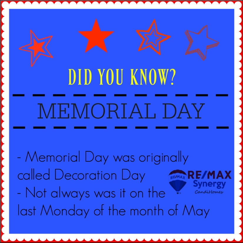DID YOU KNOW? - Memorial Day