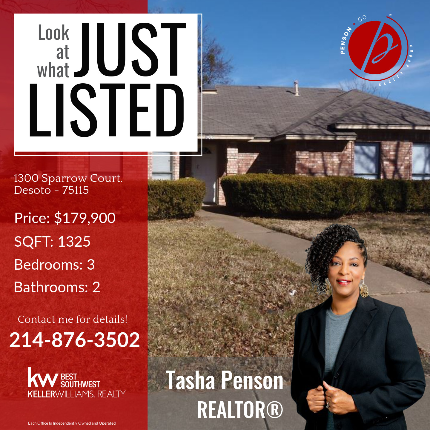 New Listing in DeSoto!!