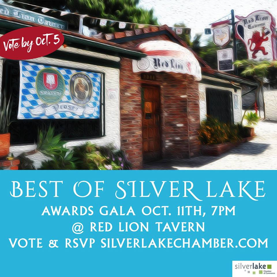 Vote Team Tiao for 2018's Best of Silver Lake!