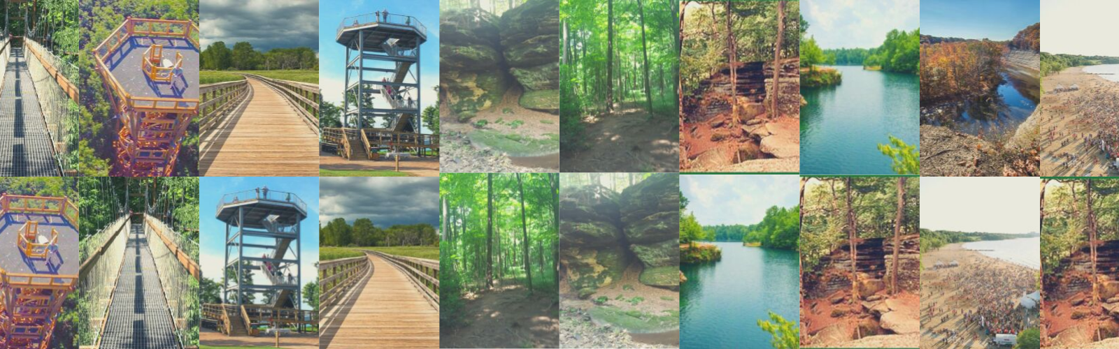 LST FAVORITE Cleveland Hiking Destinations