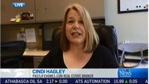 Hagley Appears on Canada's CTV News Network