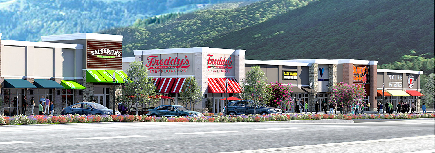 First-time retailers to enter Cleveland TN market on Paul Huff Parkway Commercial Development 2018 Update. New Shopping Center