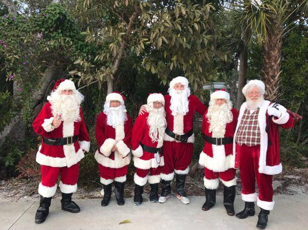 Santa Claus is coming to Sanibel