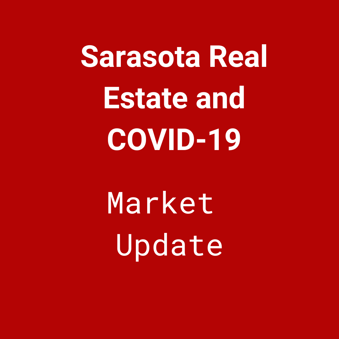 How is the COVID-19 pandemic impacting the Sarasota real estate market?
