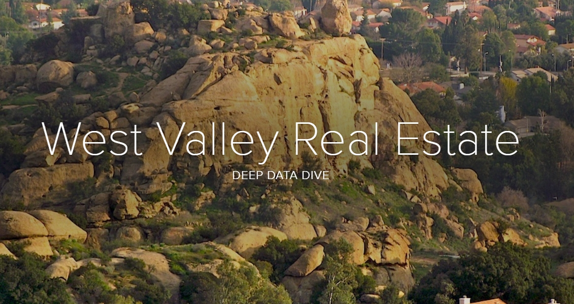 West Valley Real Estate Report Will Make You Smile or Cringe..
