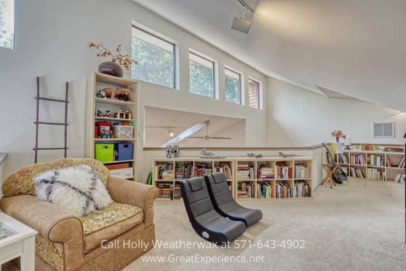 Real estate in Reston VA- The fully finished walk-out lower level of this Reston VA home offers a wealth of options and opportunities.