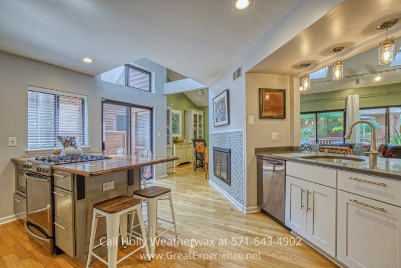 Home for sale in Reston VA- Bring out your inner chef in the impressive kitchen of this Reston VA home.