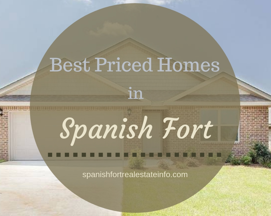 Best Priced Homes in Spanish Fort - May 2019