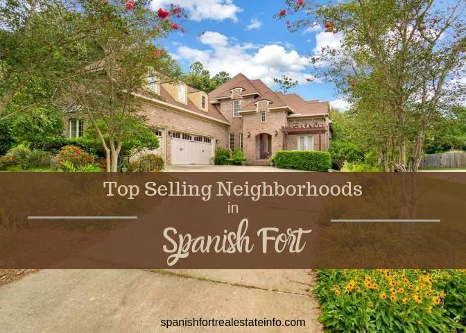 Top Selling Neighborhoods in Spanish Fort