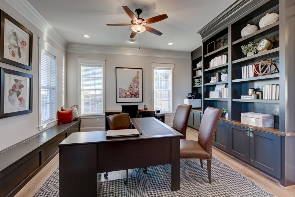 5 Simple Design Ideas to Help a Home Office Shine