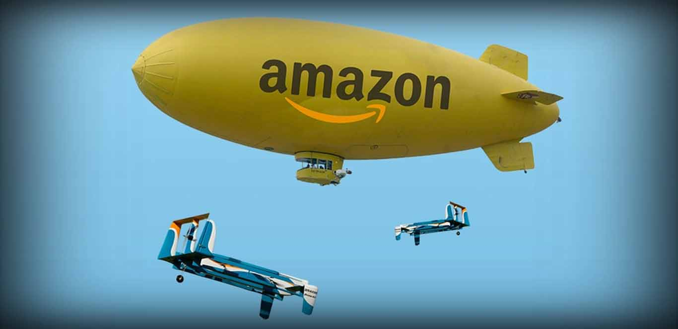 Wal-Mart Applies for Patent for Blimp-Style Floating Warehouse