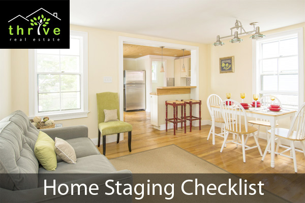 Checklist for Staging a Home