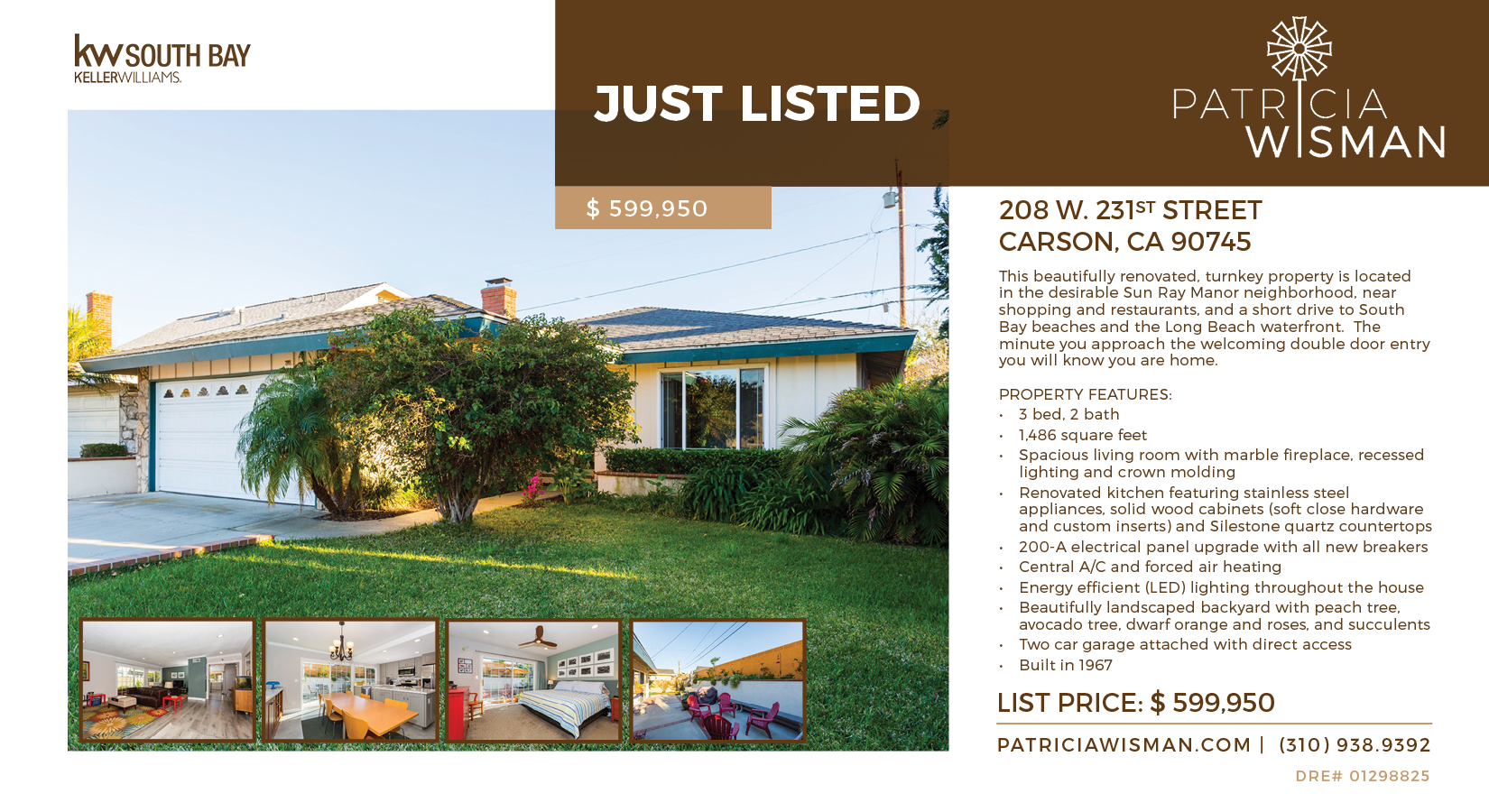 JUST LISTED! 208 W. 231st St., Carson