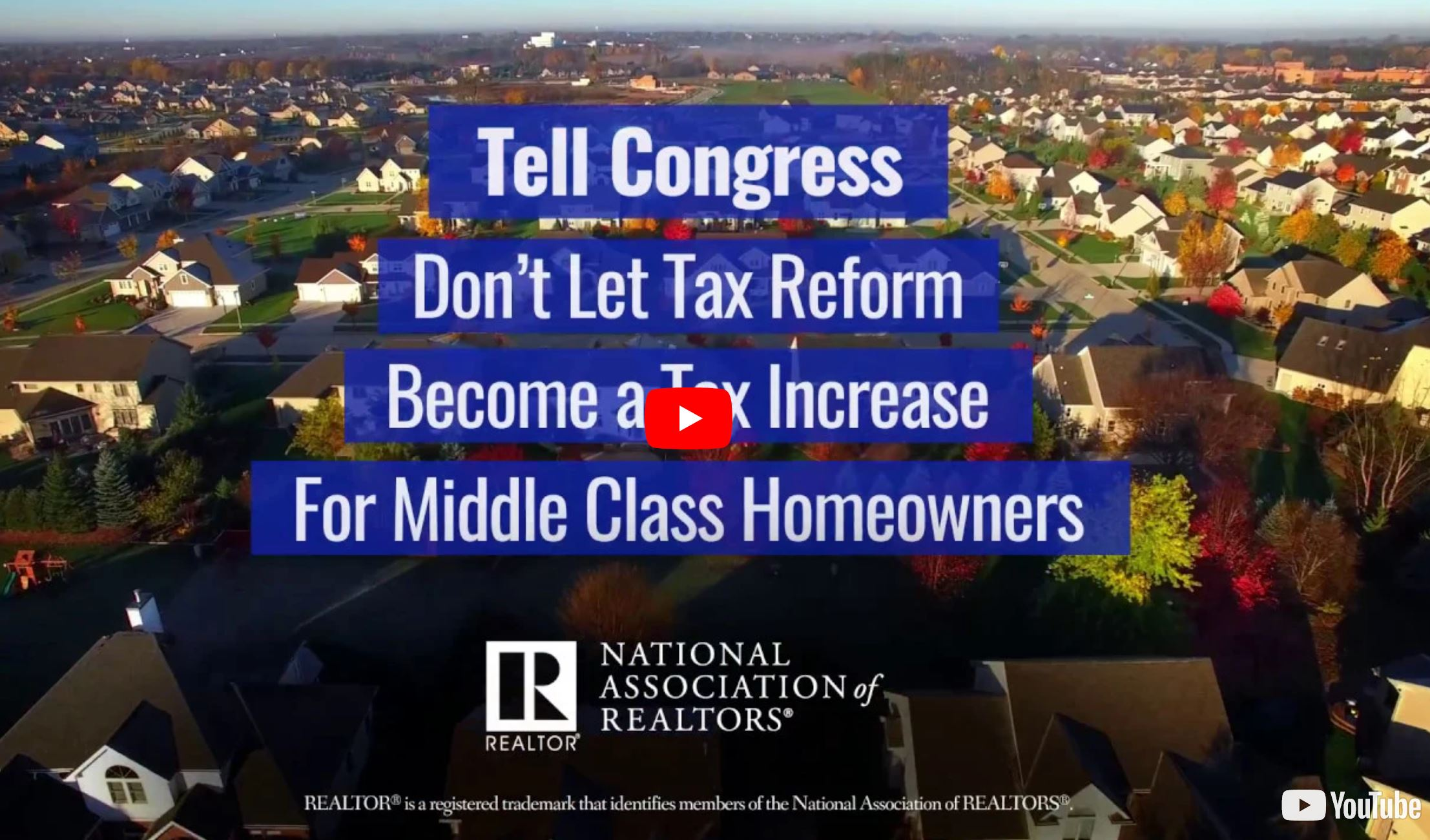 TAKE ACTION: Oppose Tax Reform Bills before they Become Law
