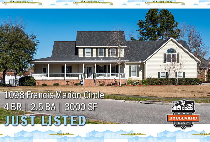 new listing: 1098 Francis Marion Circle