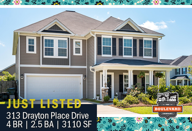 new listing: 313 Drayton Place Drive, Spring Grove Plantation