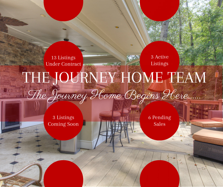 We are selling homes on The Journey Home Team!!!!!