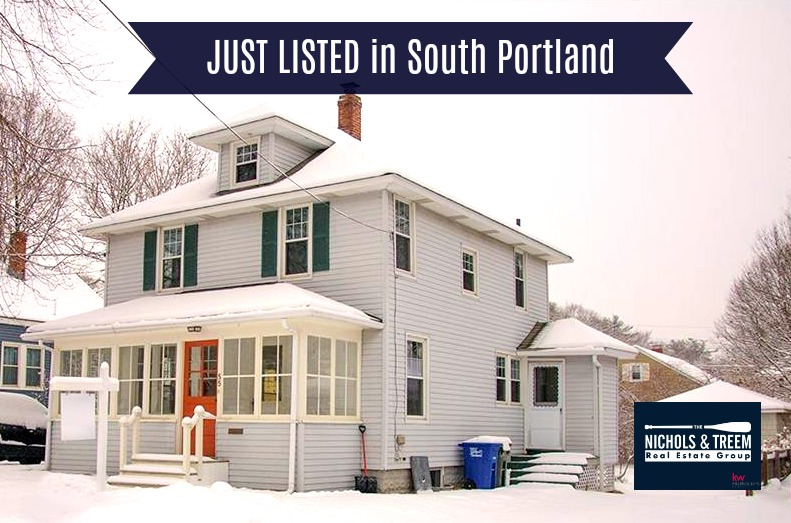 Just Listed in South Portland!