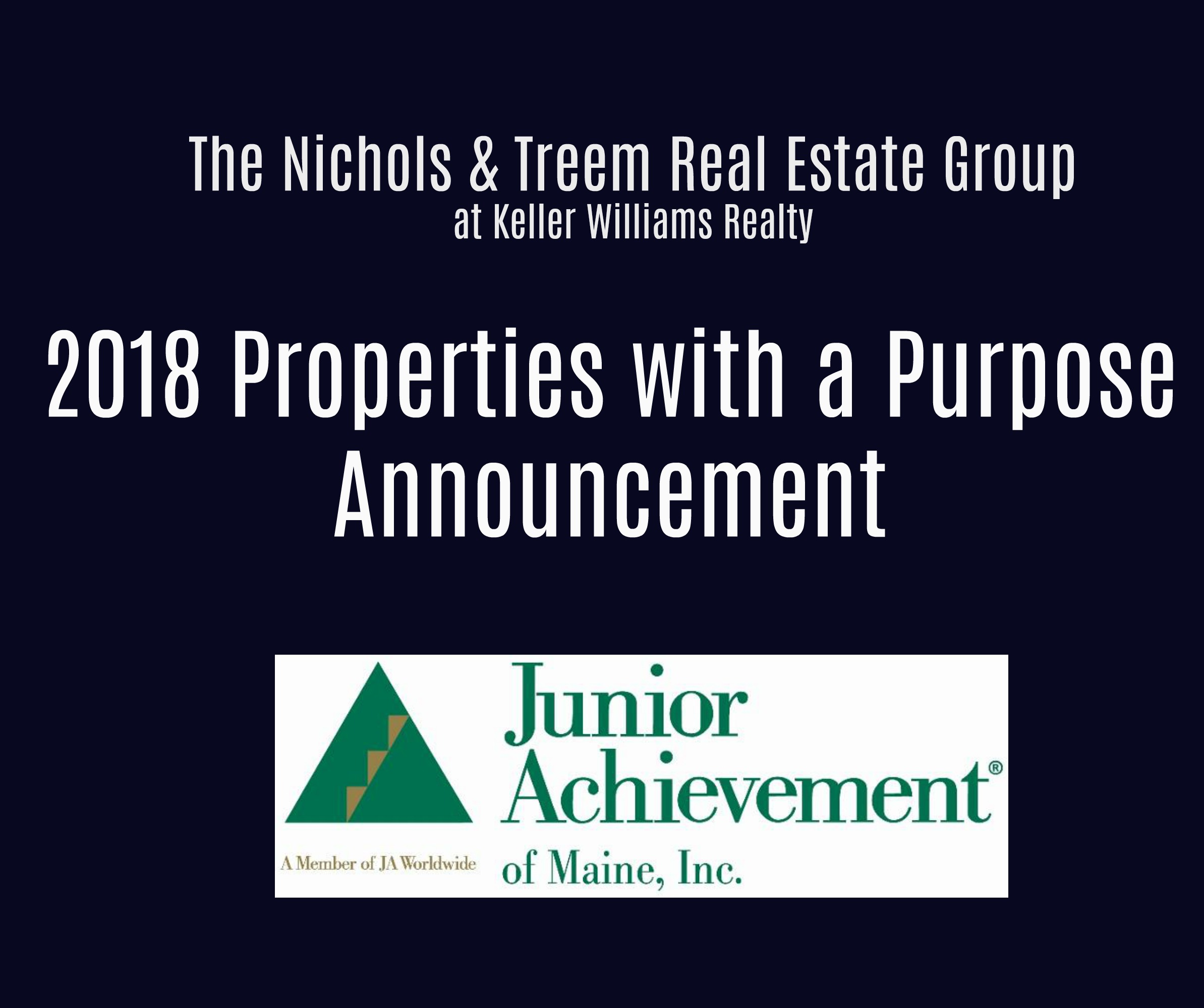 Properties with a Purpose 2018!