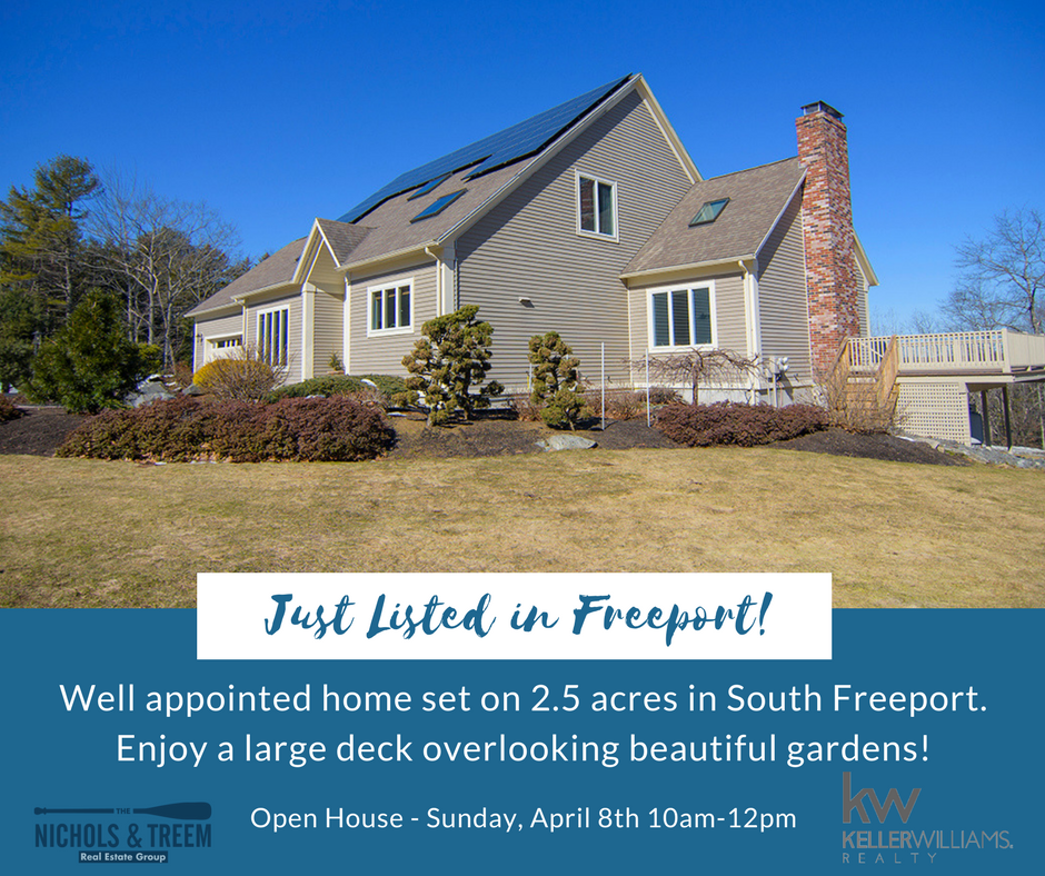 Just Listed in South Freeport!