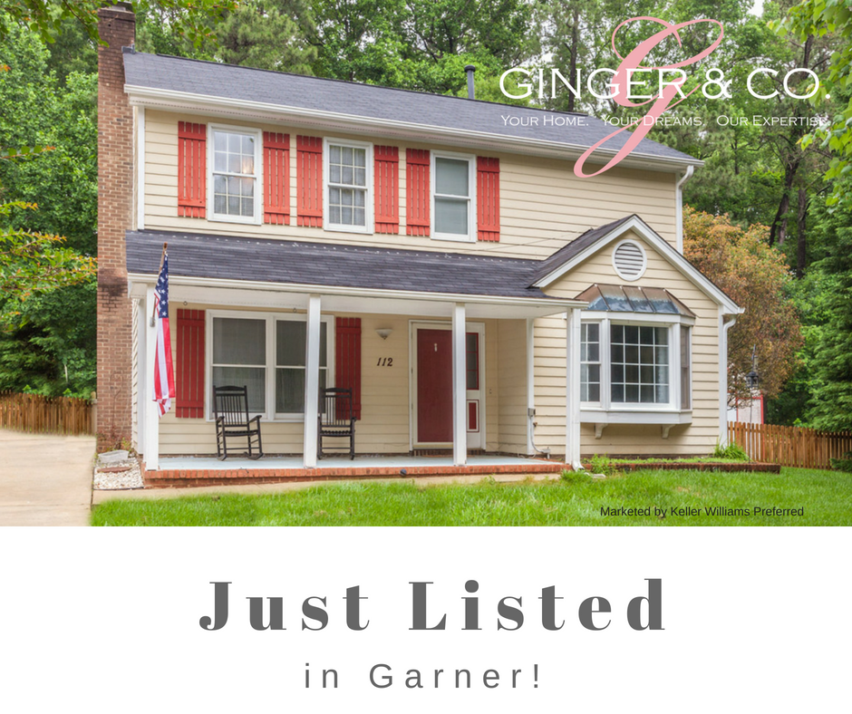 Just Listed in Garner! - Ginger   Co. eb96c43fc9a1