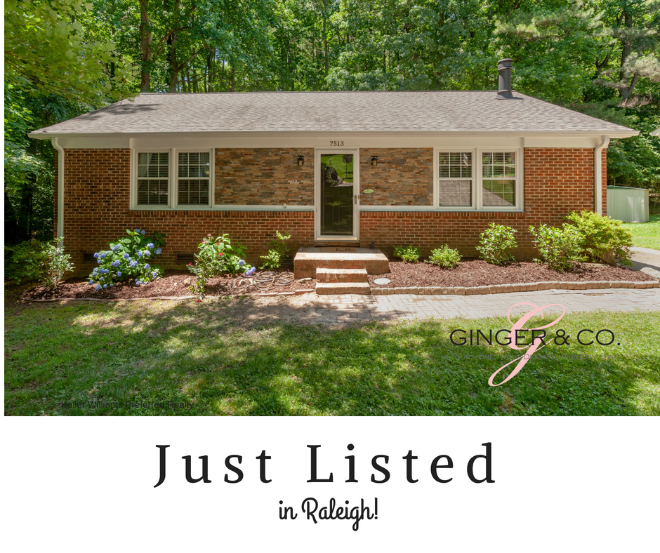Just Listed in Raleigh! - Ginger   Co. 747394474e46