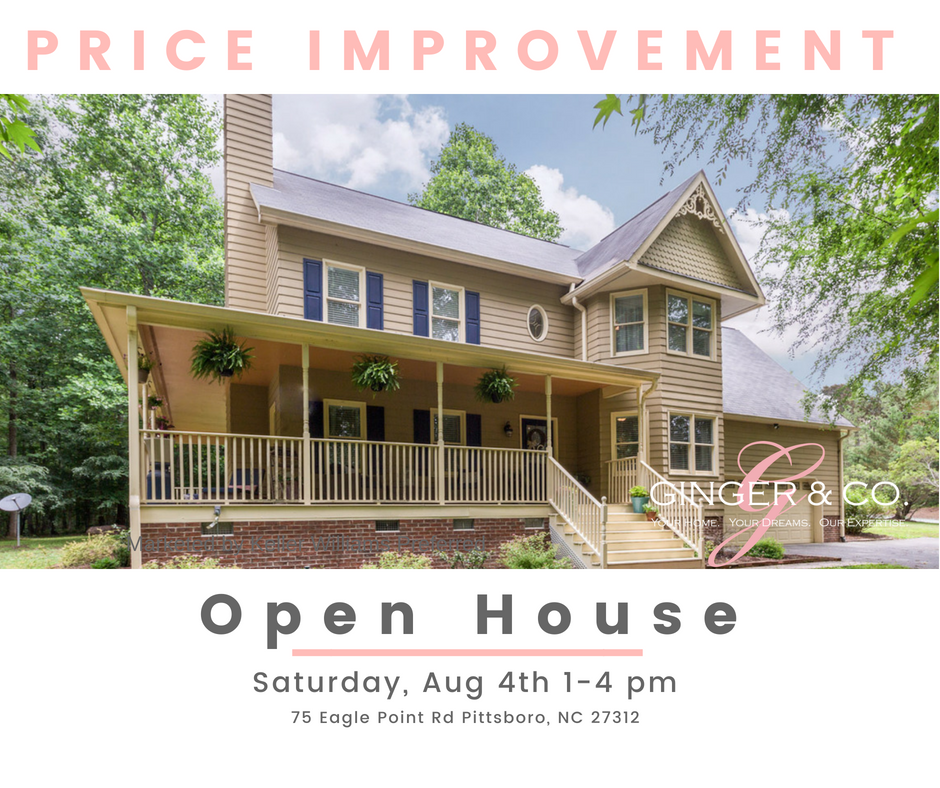Price Improvement in Pittsboro! - Ginger & Co