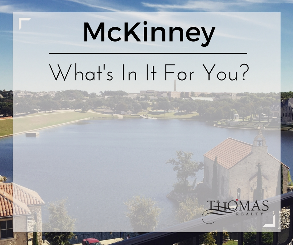 McKinney - What's In It For You?