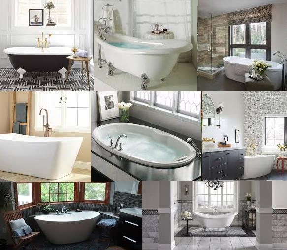 Rub a Dub-Dub, Baths Are All About the Tub!