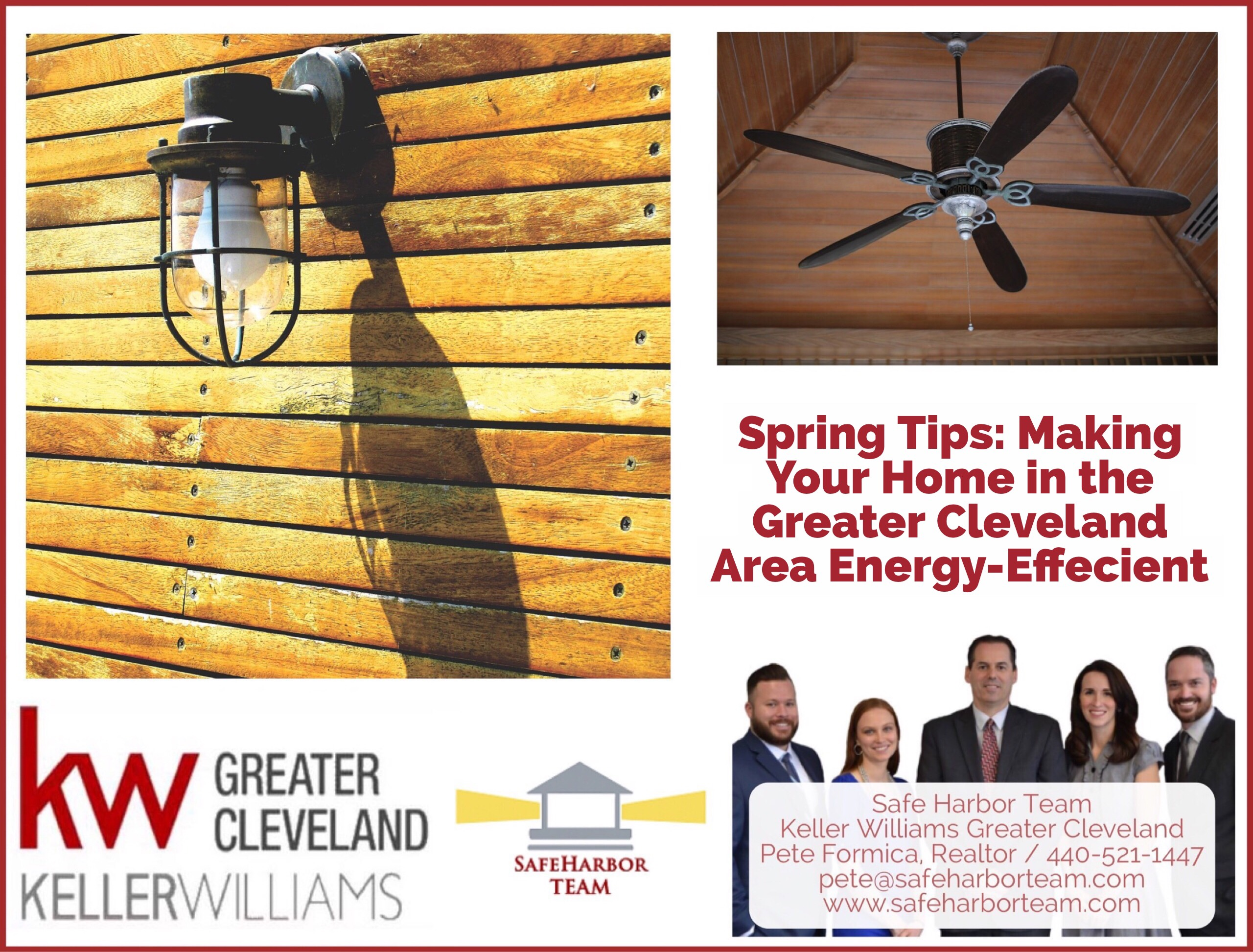 Spring Tips: Making Your Home in the Greater Cleveland Area Energy-Efficient