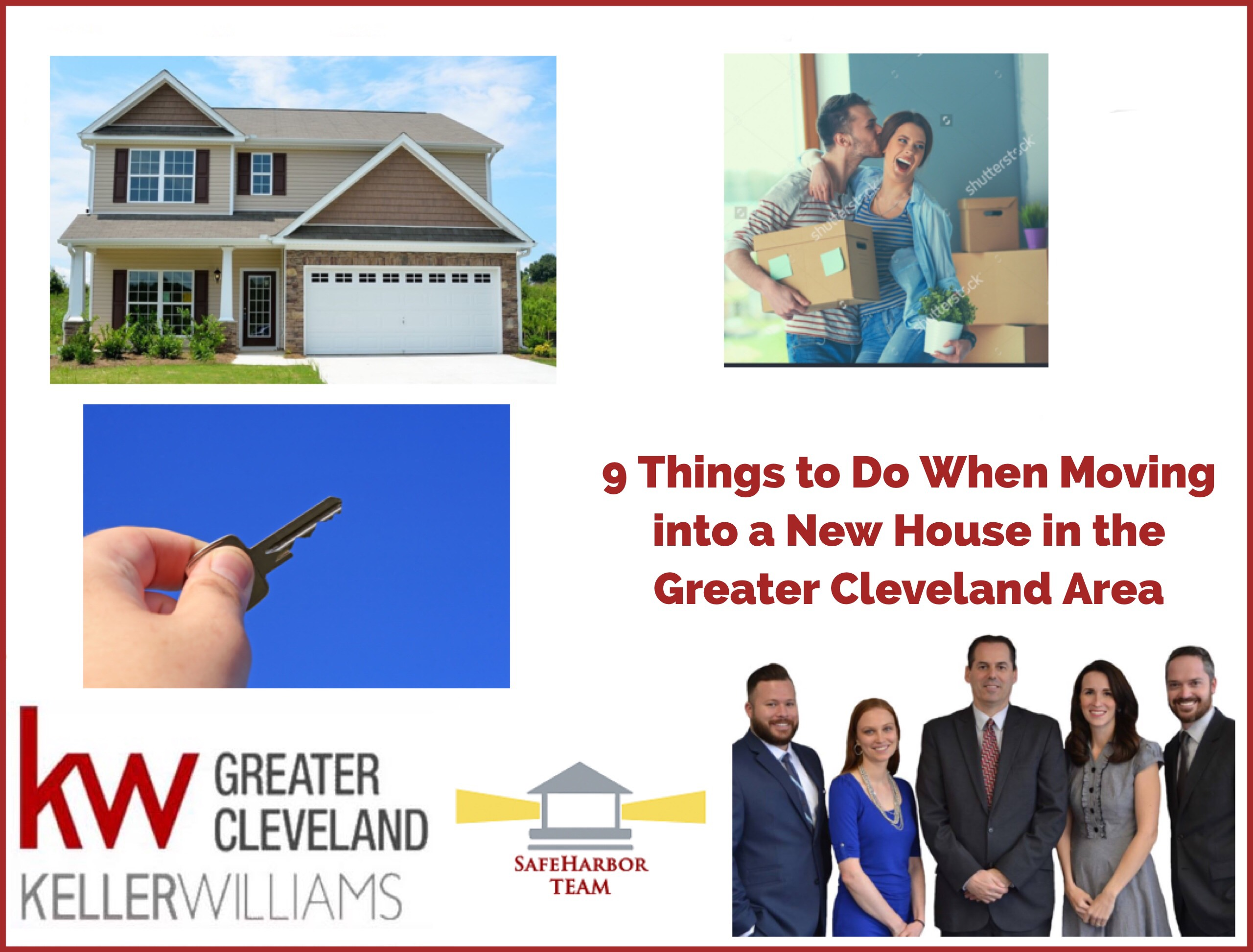 9 Things to Do When Moving into a New House in the Greater Cleveland Area