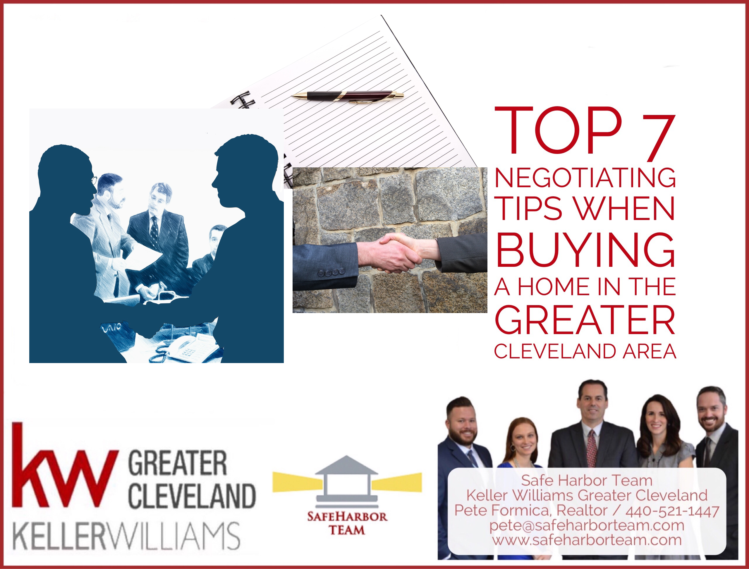 Top 7 Negotiating Tips When Buying a Home in the Greater Cleveland Area
