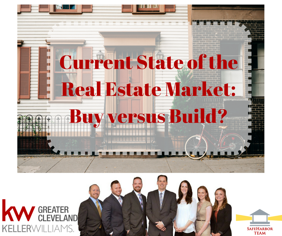 Current State of the Real Estate Market: Buy versus Build?