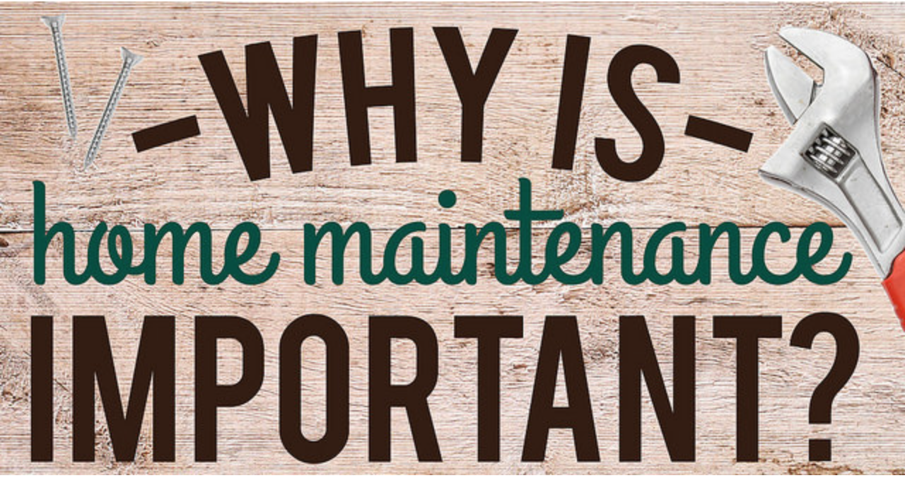 How important is home maintenance?