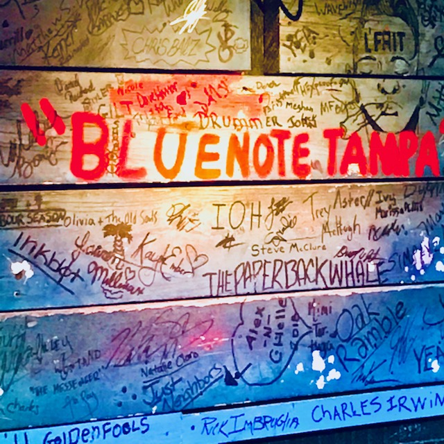 Tampa Textures: The Blue Note Tampa