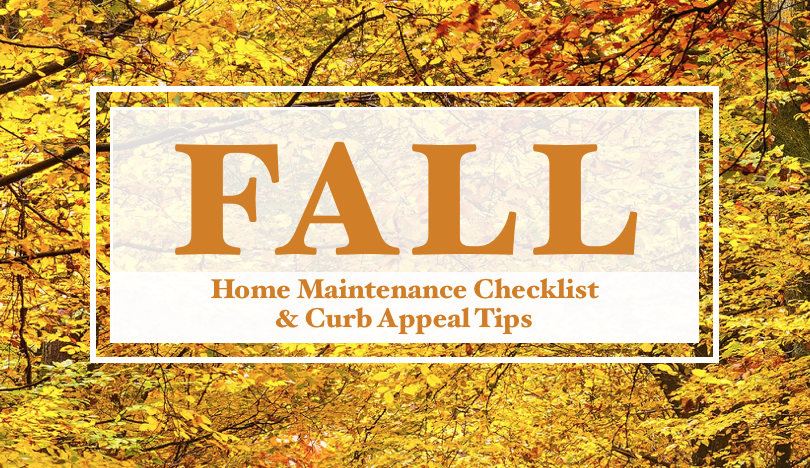 Fall Home Maintenance and Curb Appeal Tips