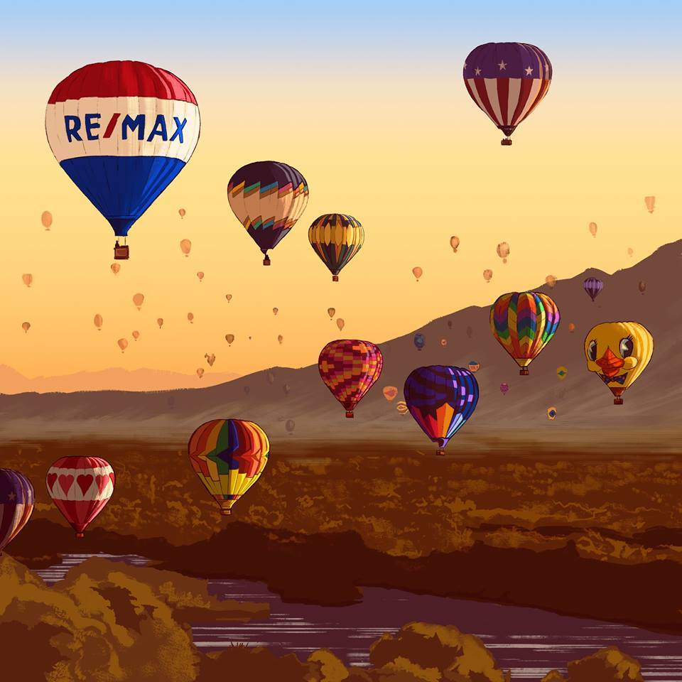 RE/MAX On the River celebrates National Hot Air Balloon Day - June 5, 2019