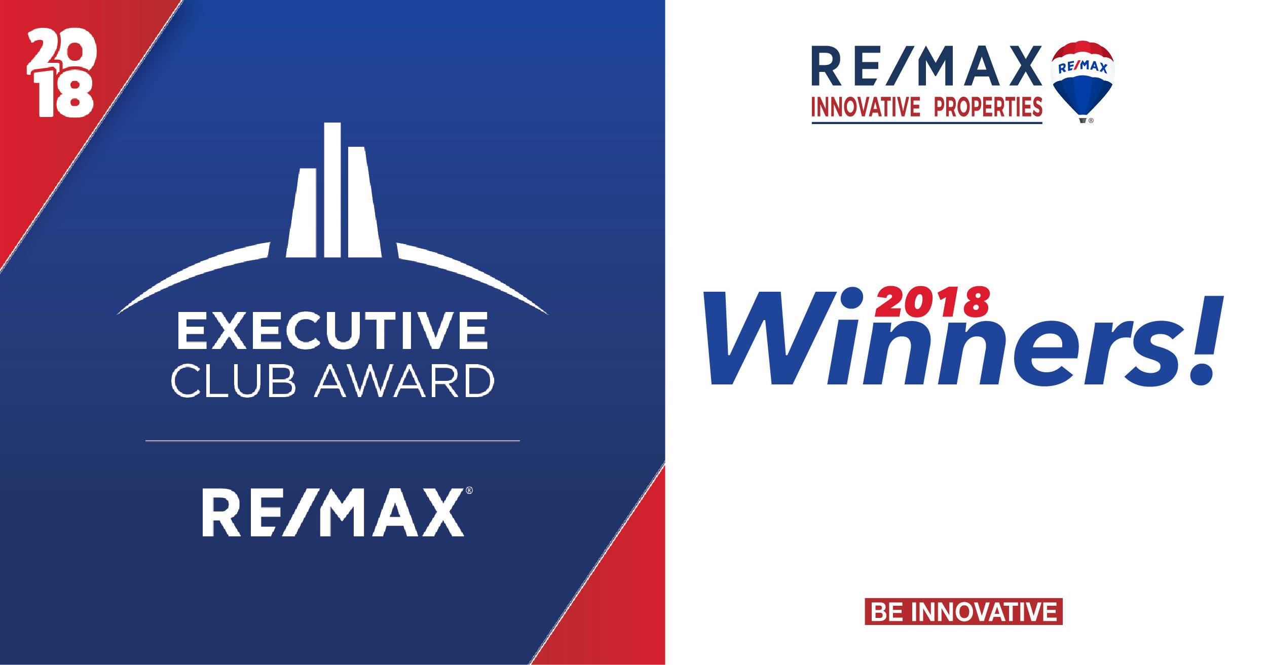 RE/MAX Innovative Properties Executive Club Award