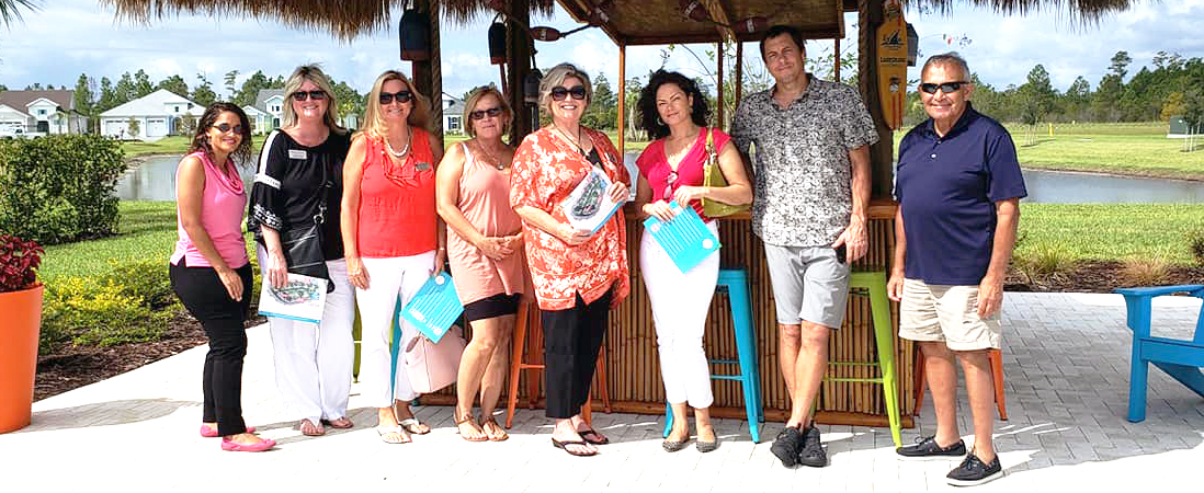 St. Augustine Realtors attend outdoor event.
